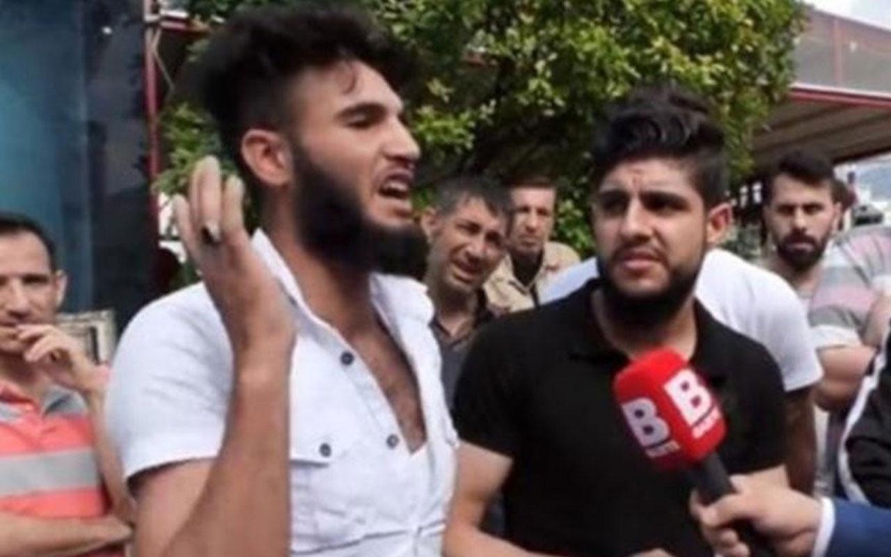 """""""Kafa keserim"""" diyen Suriyeli gözaltında"""