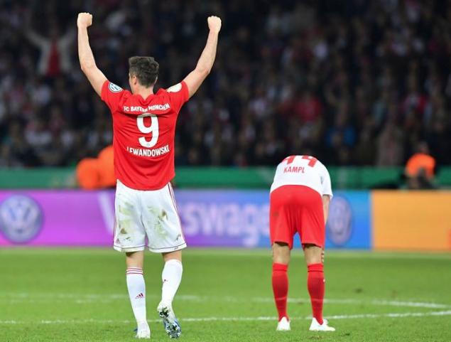 Lewandowski'nin gol sevinci sosyal medyayı salladı