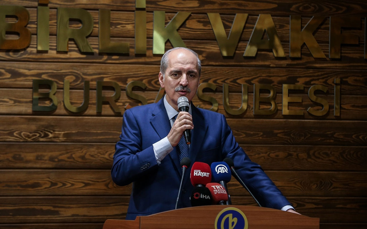 """Numan Kurtulmuş: """"S-400 tartışması Türkiye'nin geleceğiyle ilgilidir"""""""