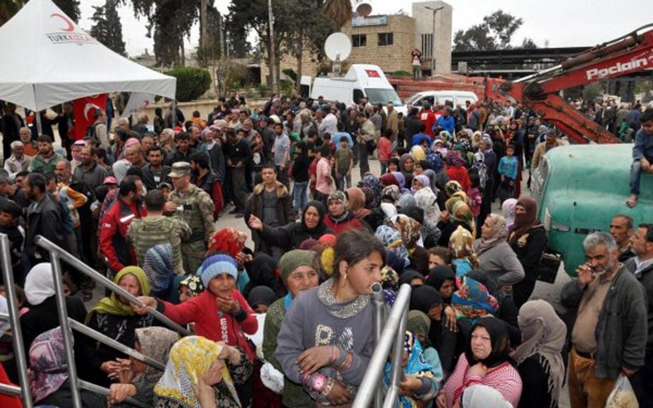 Hatay'da suça karışan 283 Suriyeli sınır dışı edildi