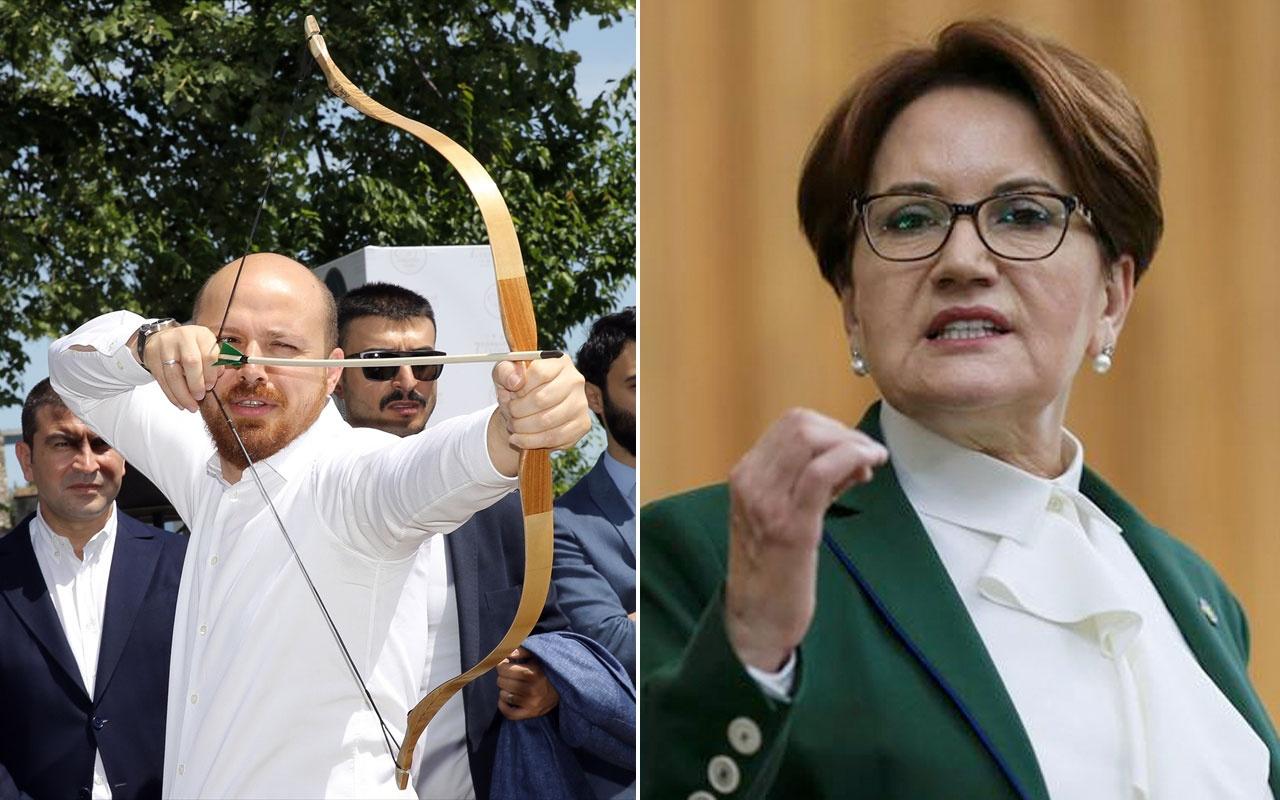 Bilal Erdoğan'dan Meral Akşener'e tepki kendimizi zor tutuyoruz