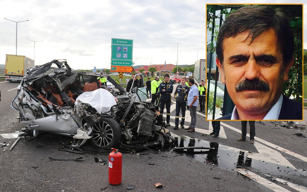 Bolu'daki kazada yaralanan kulüp başkanı yaşamını yitirdi
