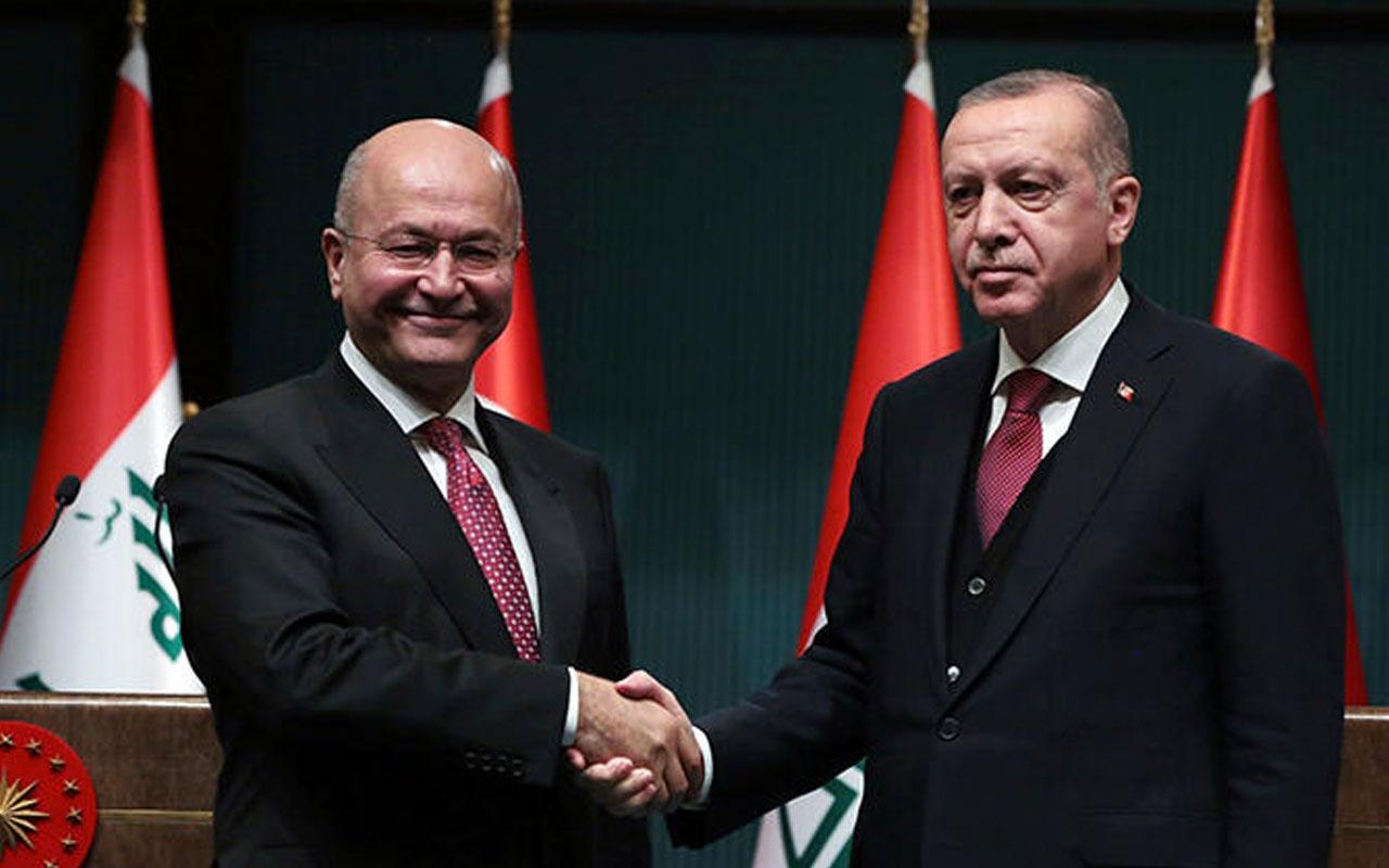Cumhurbaşkanı Erdoğan Irak Cumhurbaşkanı Salih'i kabul edecek