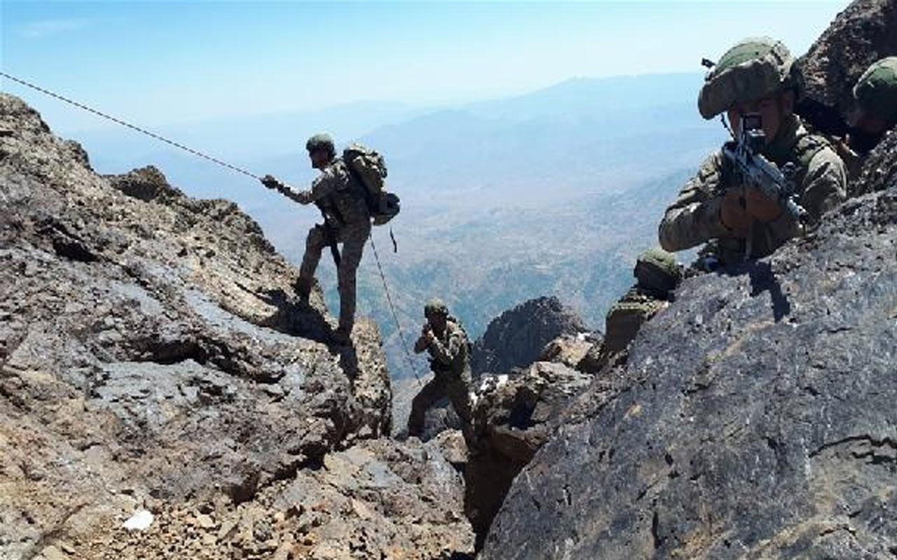 Kuzey Irak'taki Pençe harekatında 6 terörist daha öldürüldü