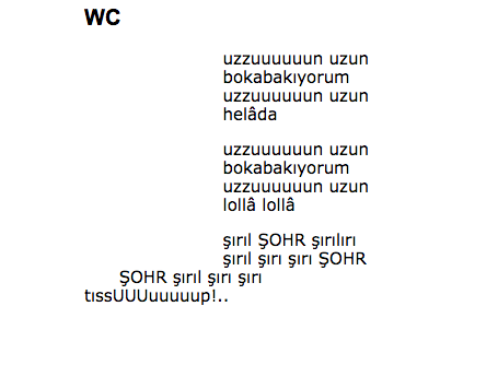 Zümrüt Apartmanı yazarı Abdullah Şevki'nin 'At kıçı' şiiri de sapkınca