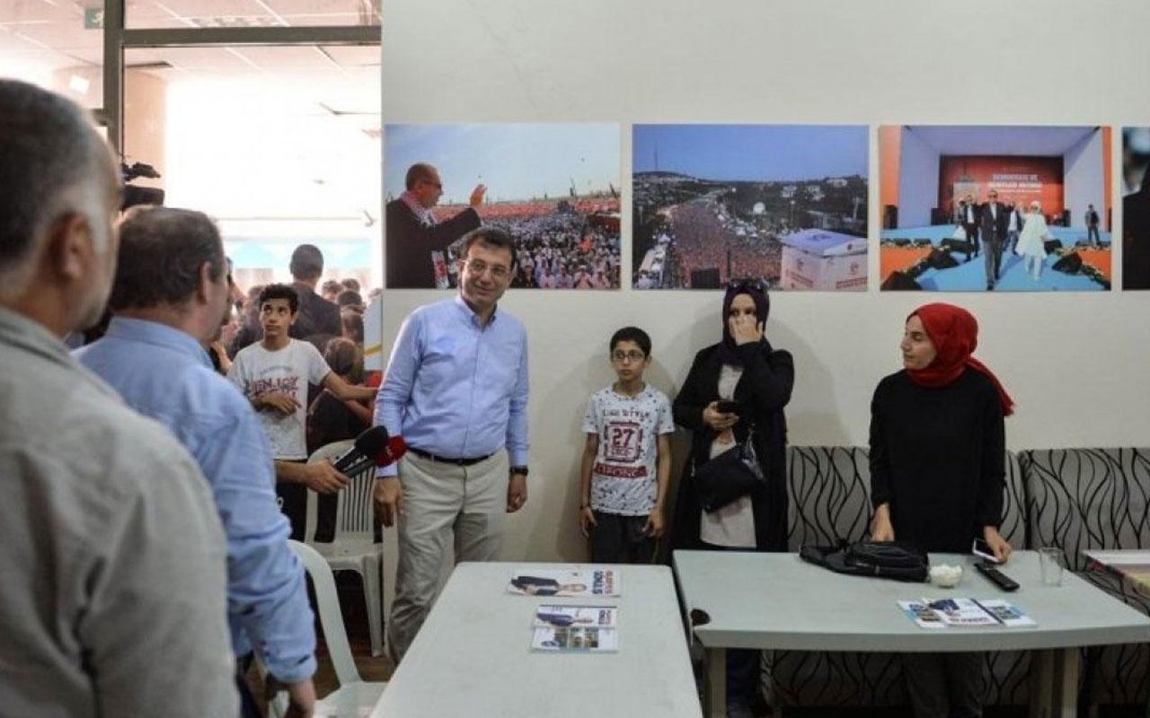 Ekrem İmamoğlu'ndan Binali Yıldırım'ın seçim ofisine sürpriz ziyaret
