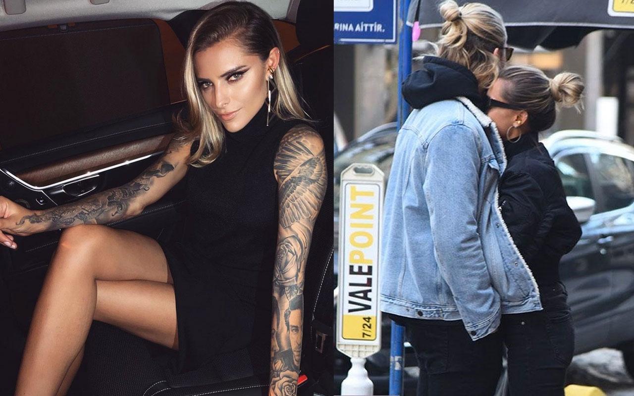 Karius'un sevgilisi Sophia Thomalla'nın otomobiline spreyli saldırı