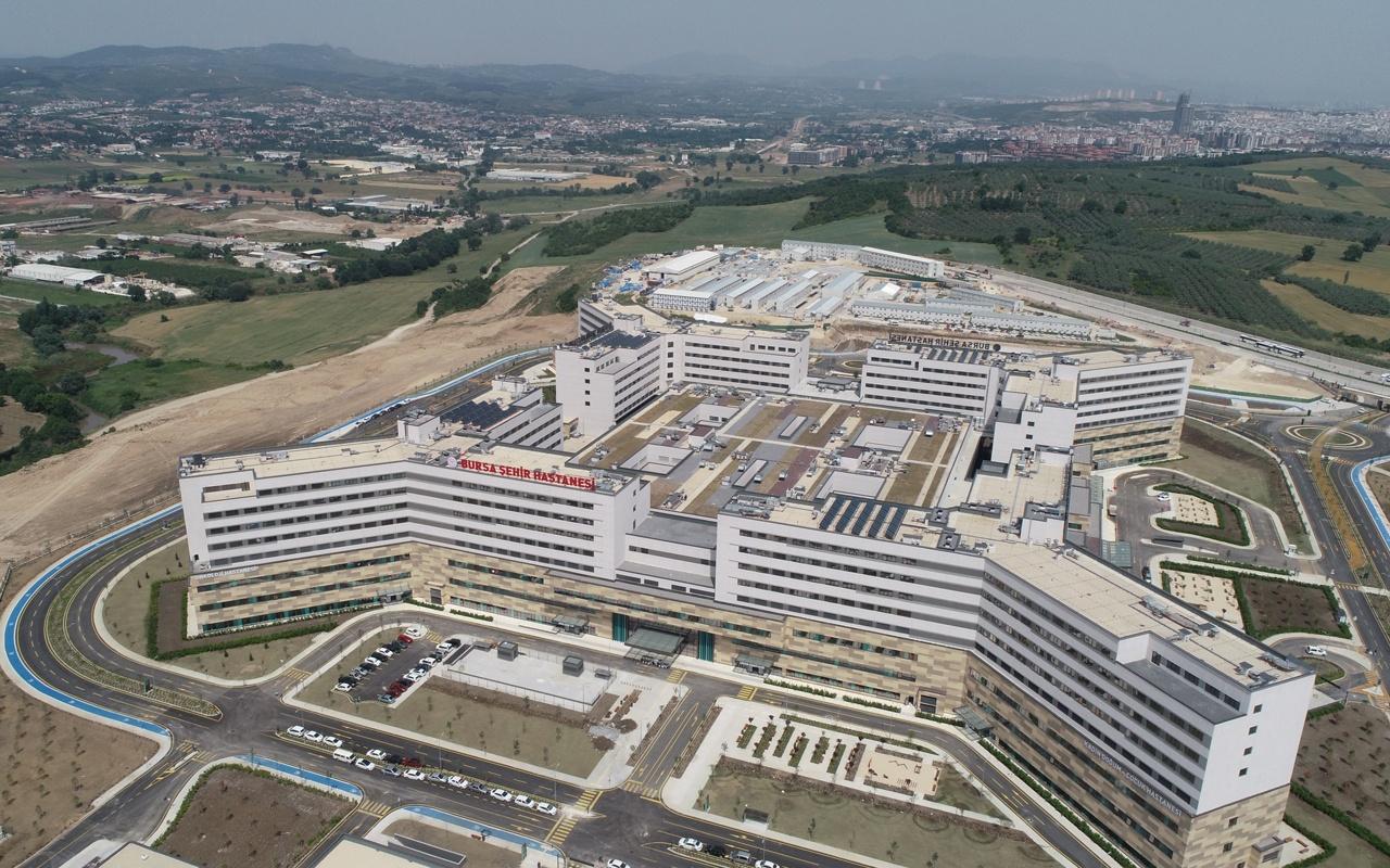 6 milyon kapasiteli Bursa Şehir Hastanesi açılışa gün sayıyor