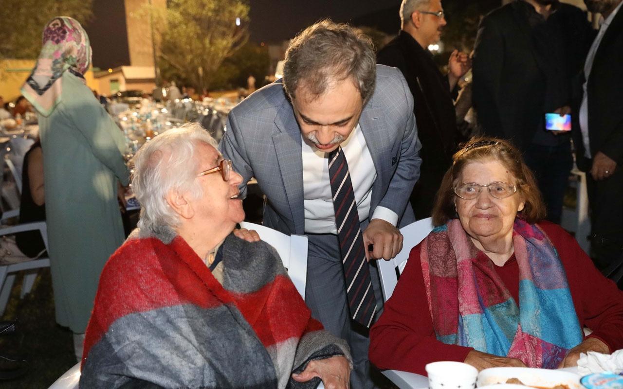 İBB huzurevi sakinleri ve gönüllüleri iftarda buluştu