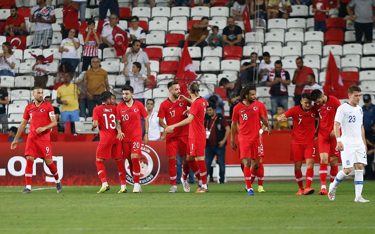 Türkiye Yunanistan maçı golleri ve geniş özeti