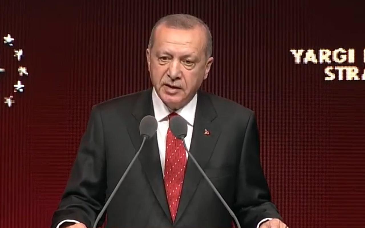 Cumhurbaşkanı Erdoğan 2019 Yargı Reformu Strateji Belgesi'ni açıkladı