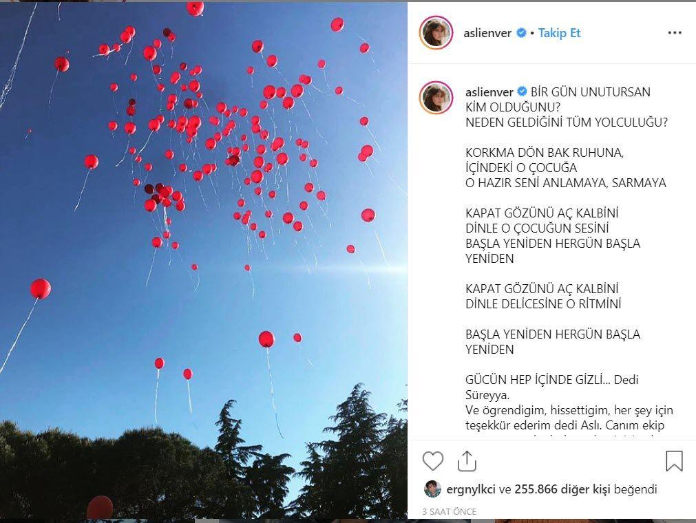 Aslı Enver'den İstanbullu Gelin'in finali sonrası yaptığı paylaşım duygulandırdı.