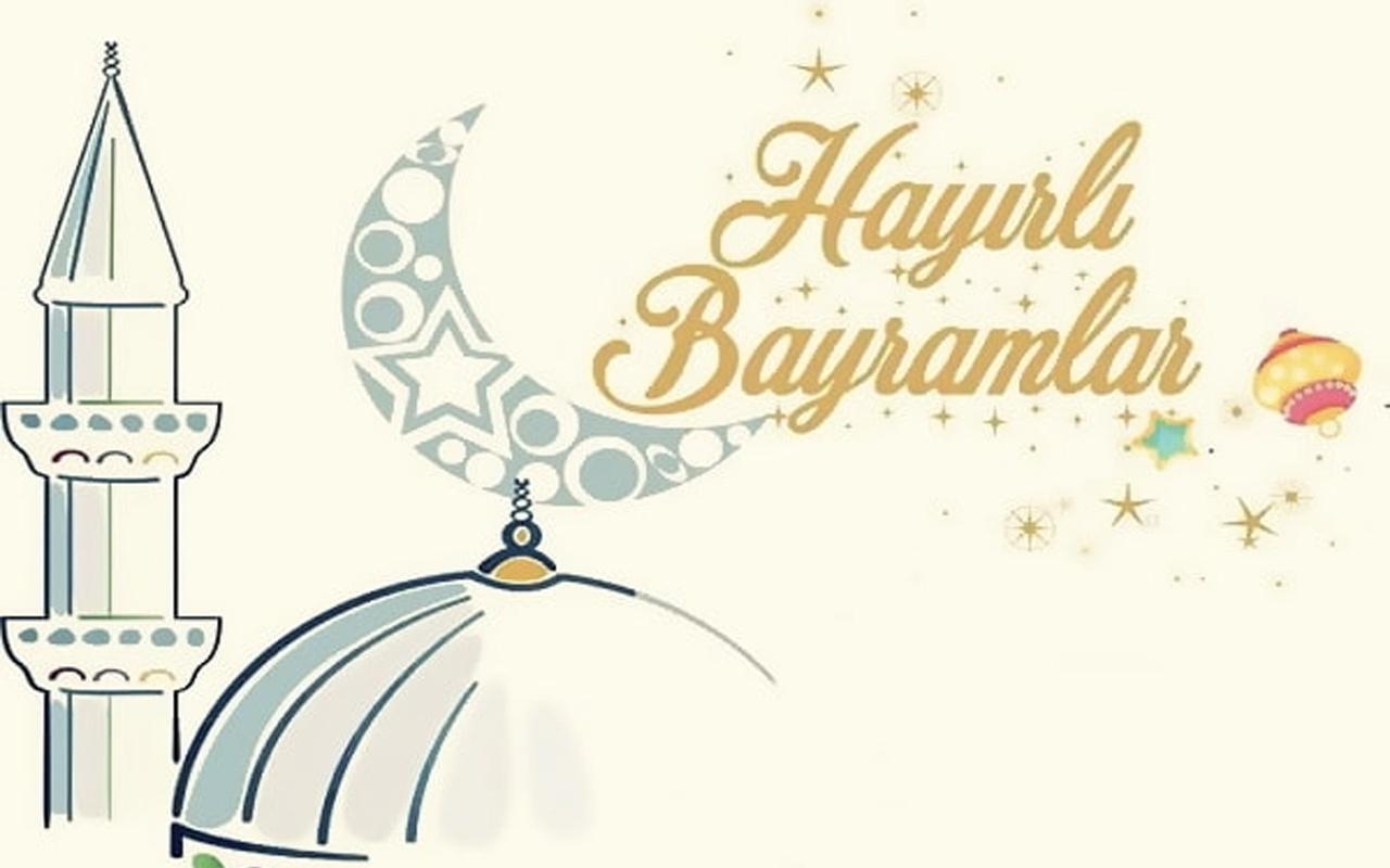 Bayram mesajları kısa 2019 resimli Ramazan bayramı kutlama sözleri