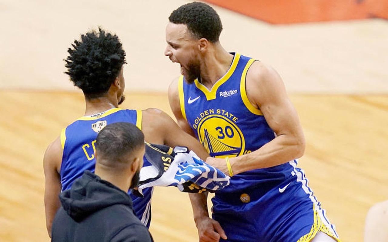 GoldenState Warriors NBA final serisinde durumu 1-1 yaptı