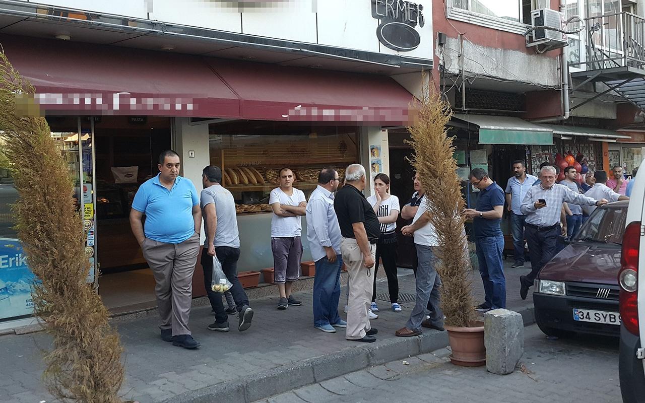 İstanbul'da fırın sahibine silahlı saldırı
