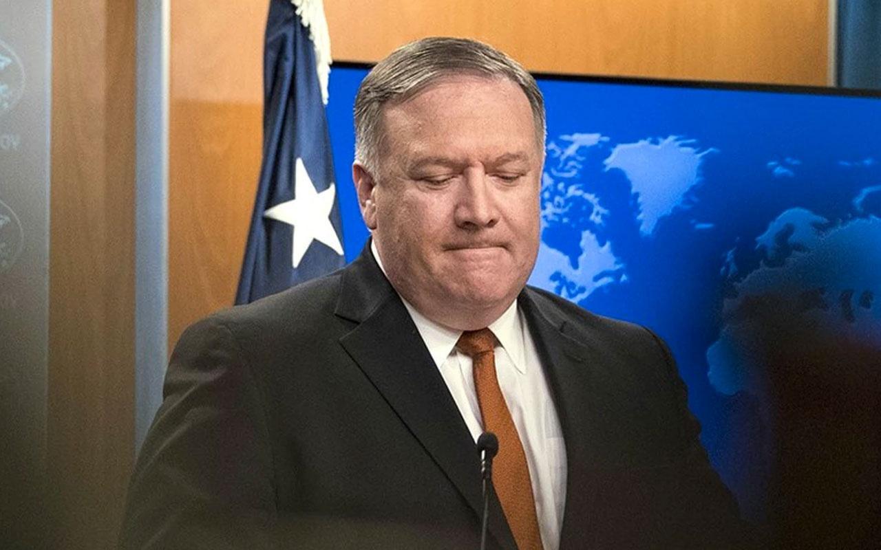ABD Dışişleri Bakanı Mike Pompeo itiraf etti tek taraflı plan