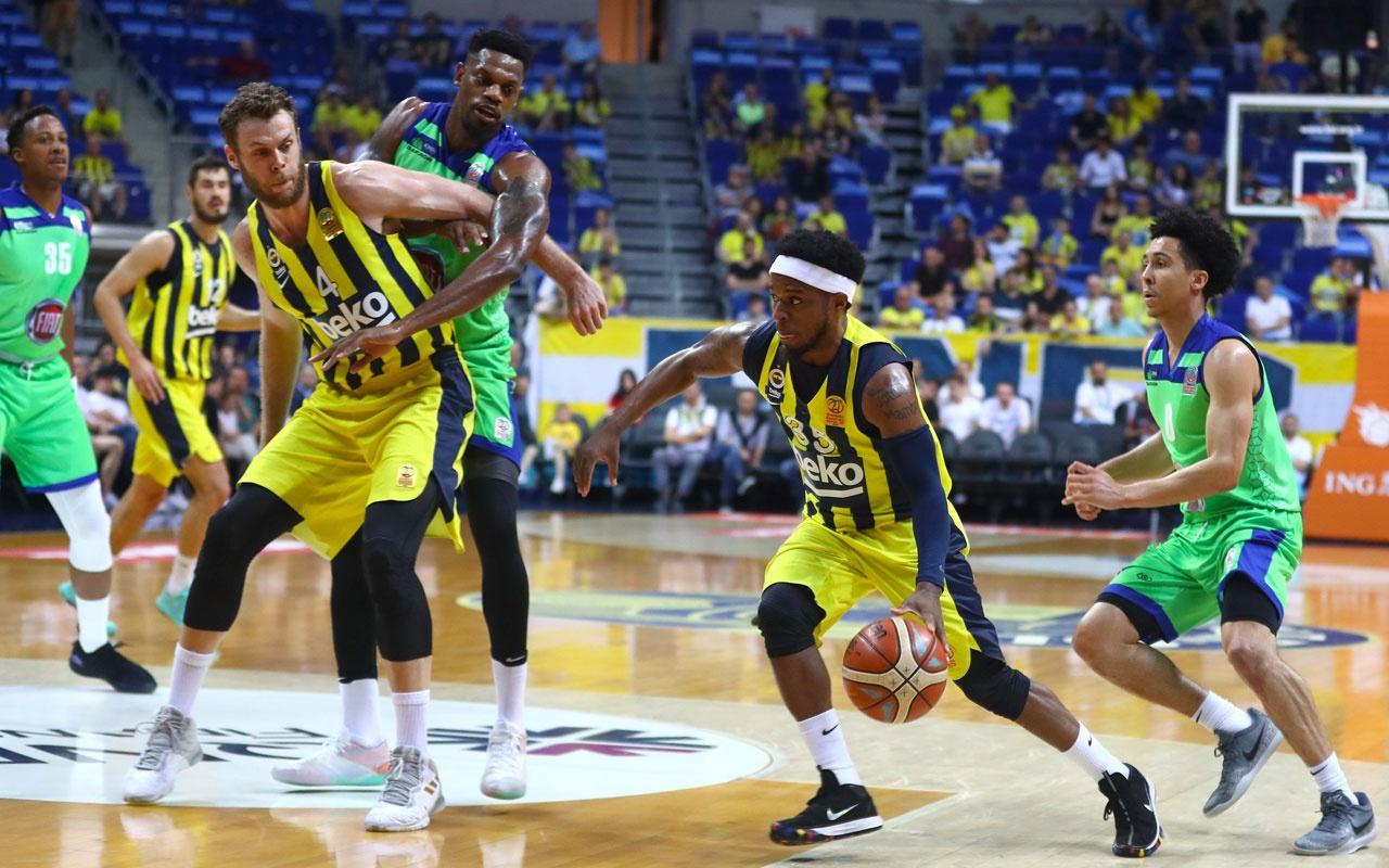 Fenerbahçe Beko, THY Avrupa Ligi'nde Olympiakos'a konuk olacak