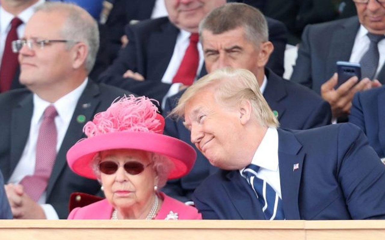 Trump İngiltere ziyaretinde yine kafasına göre davrandı