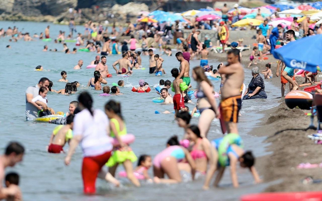 Batı Karadeniz sahilleri güneyi aratmadı! İlçenin nüfusu 5 katlandı