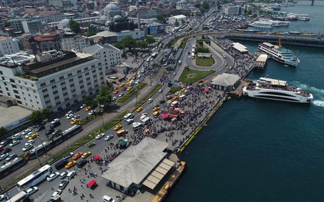 İstanbul'da bayramın son günü! Vatandaşlar vapurlara akın etti