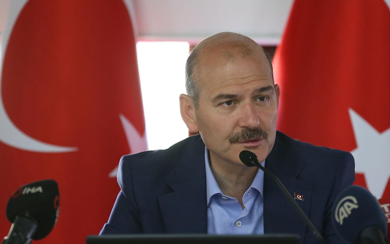 """Soylu: """"Gezi olaylarında otel tahsis edenler bugün uçaklarını tahsis ediyorlar"""""""