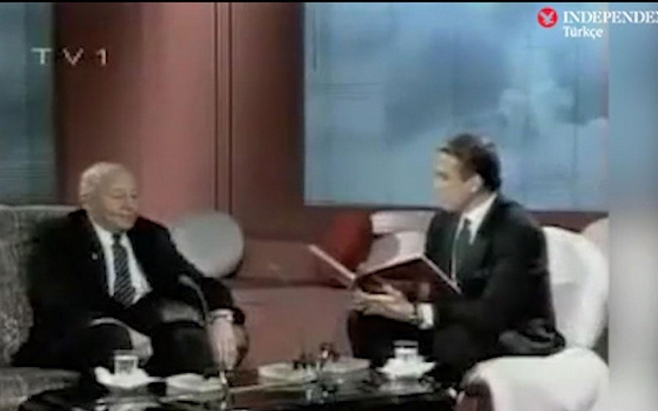 Binali Yıldırım'ın Uğur Dündar talebi 28 yıl önce yayınlanan programla mı ilgili