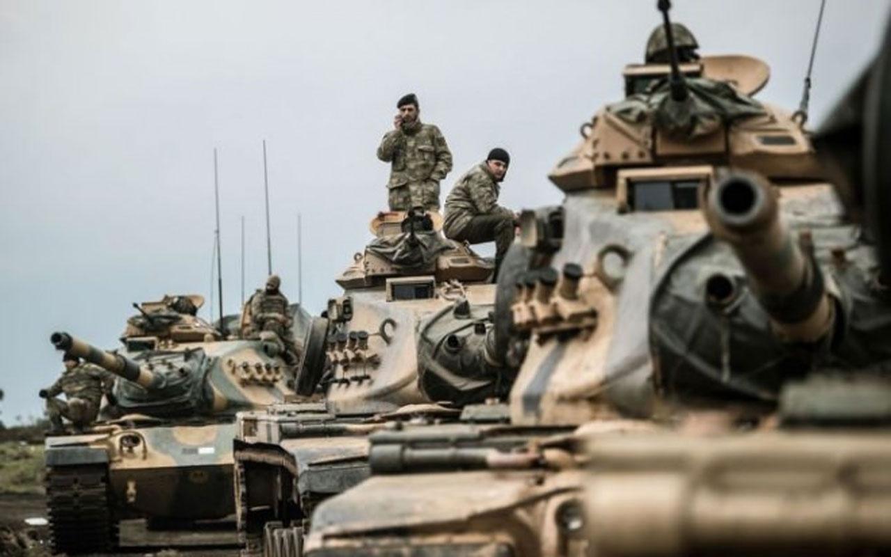 Türkiye'den Tel Rıfat'taki terör yuvalarına baskın