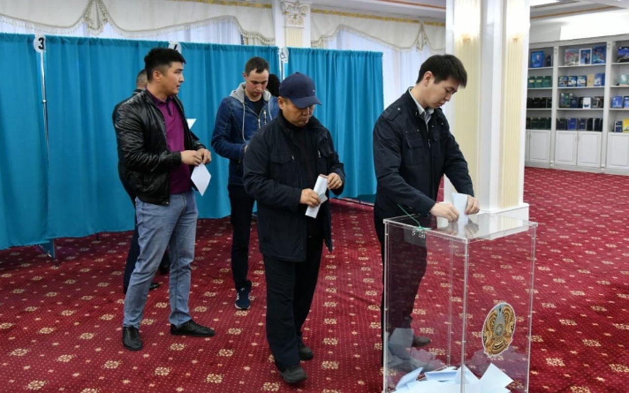 Kazakistan'da ilk seçim sonuçları açıklandı