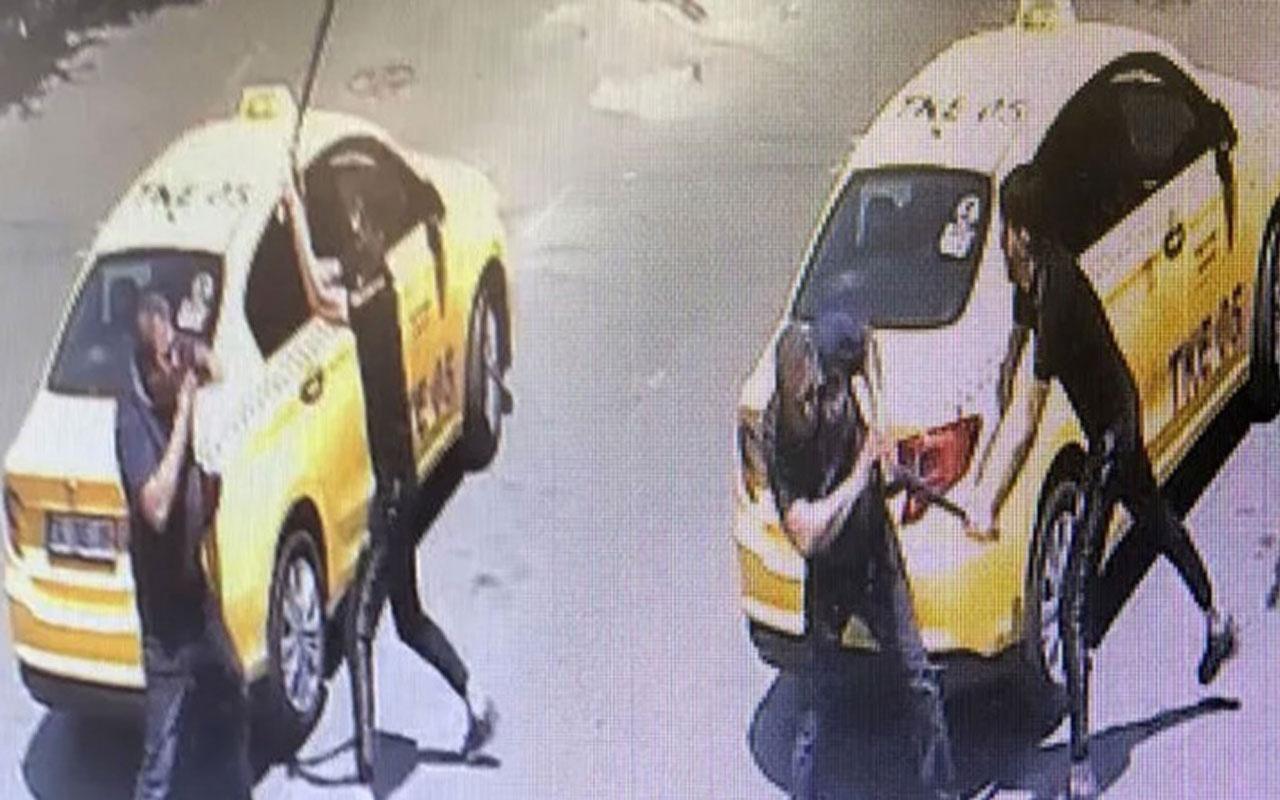 Taksiye binen kadın tacize uğradı bunu öğrenen oğlu dayak attı