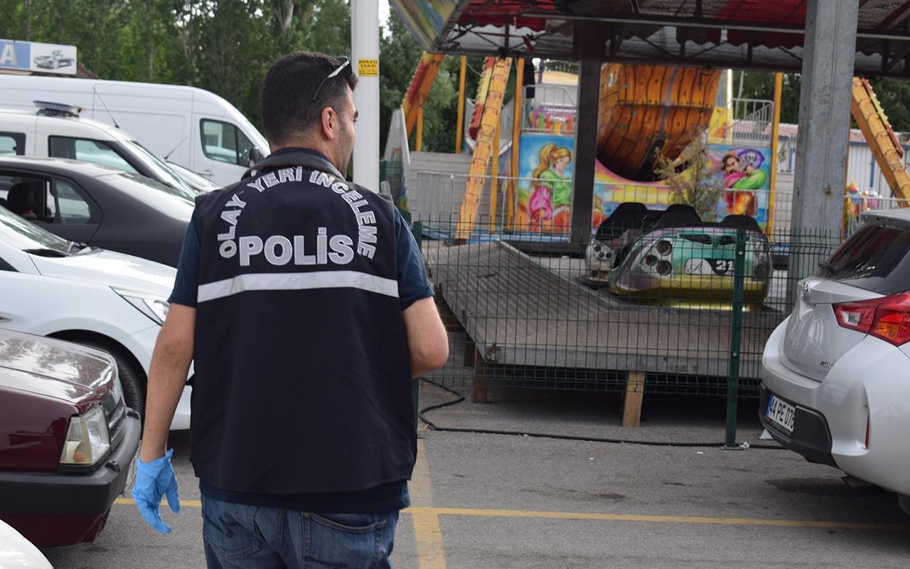 Malatya'da lunaparkta akıl almaz kaza
