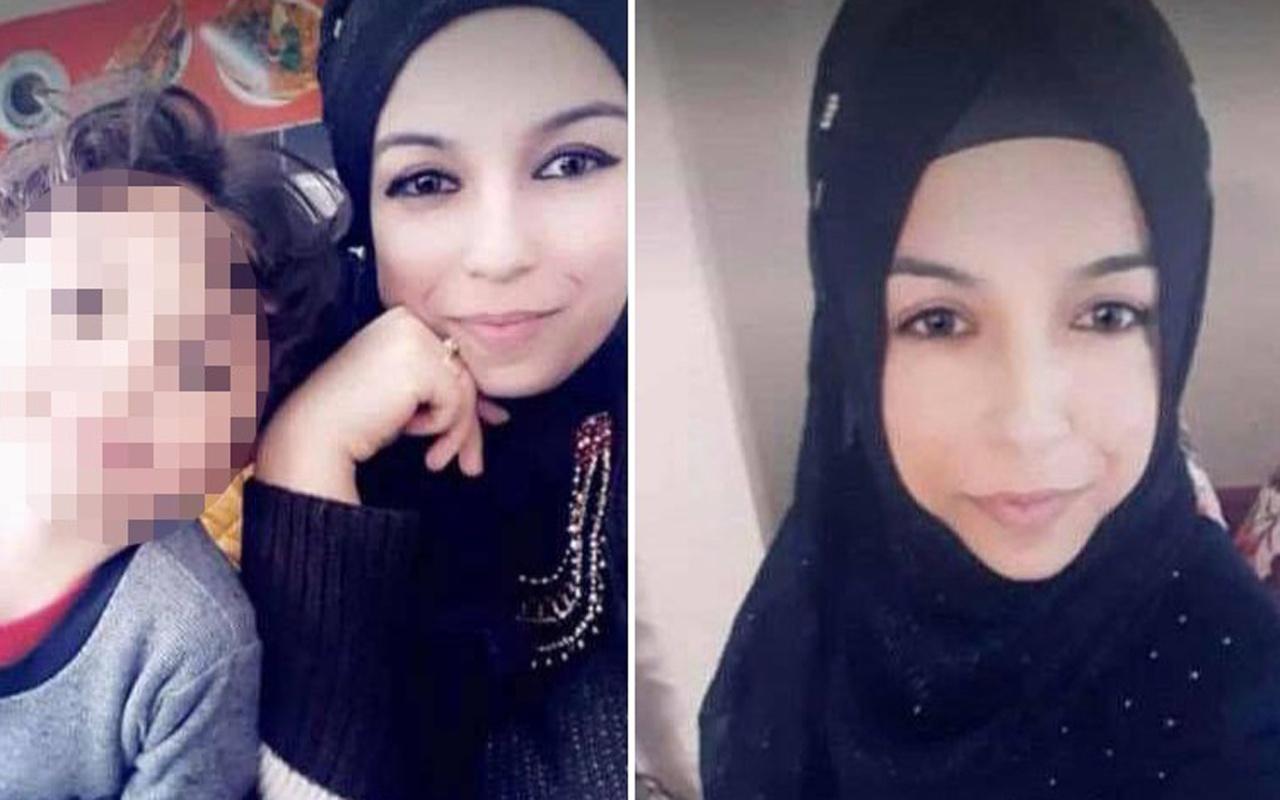 Genç kadın çocuklarının gözleri önünde canice öldürüldü