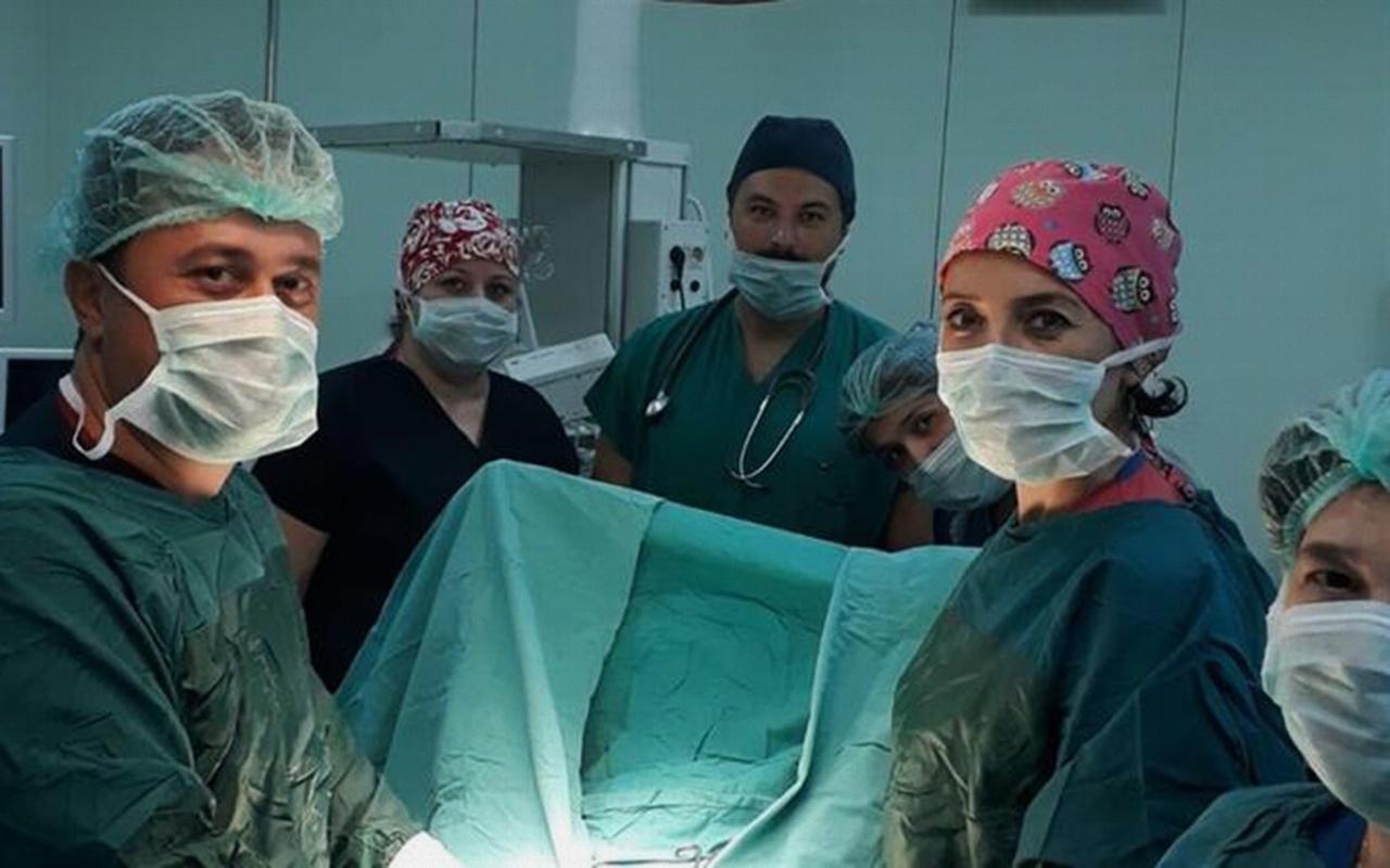 Hatay'da doktorları şaşkına çeviren hasta