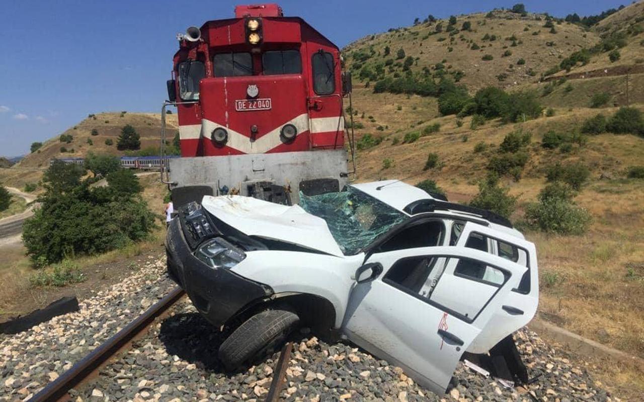 Elazığ'da tren kazası 1 ölü 2 yaralı