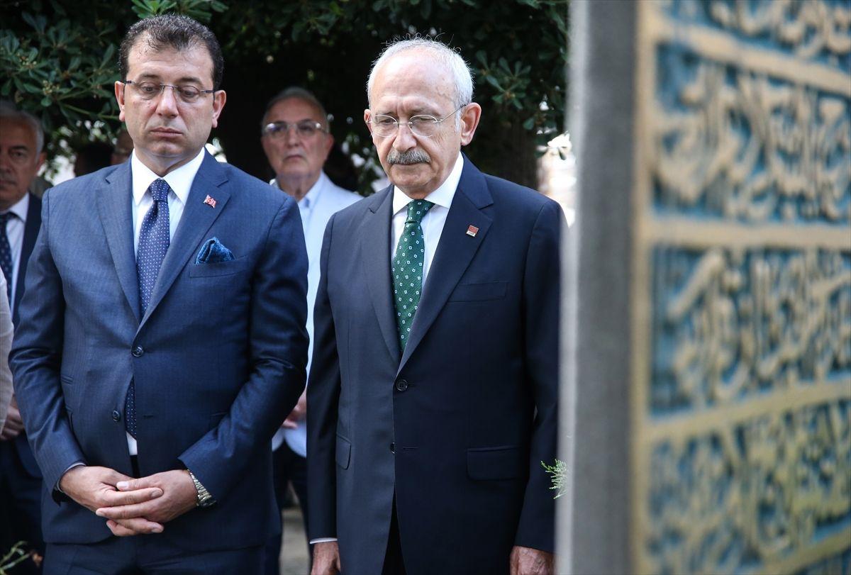 Kılıçdaroğlu ve İmamoğlu'ndan ilk İBB başkanının kabrine ziyaret - Sayfa 1