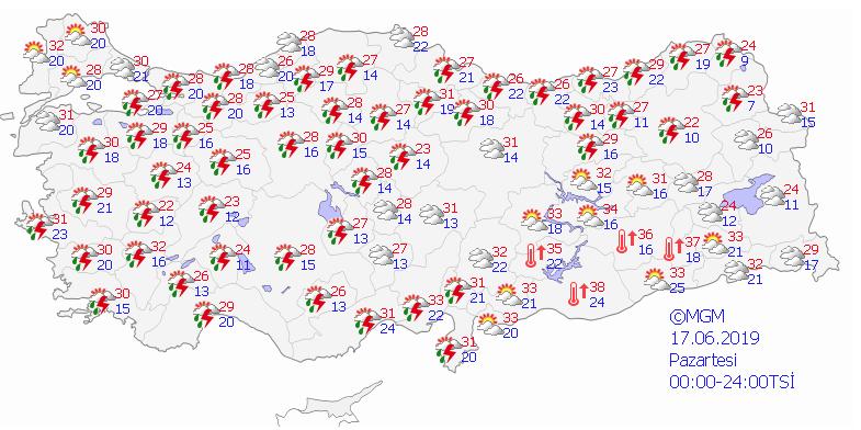 Meteoroloji uyardı: İstanbul'da nem oranı yüzde 96'ya çıkacak - Sayfa 9