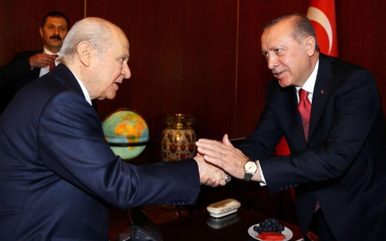 Cumhurbaşkanı Erdoğan Devlet Bahçeli'yi ziyaret edecek