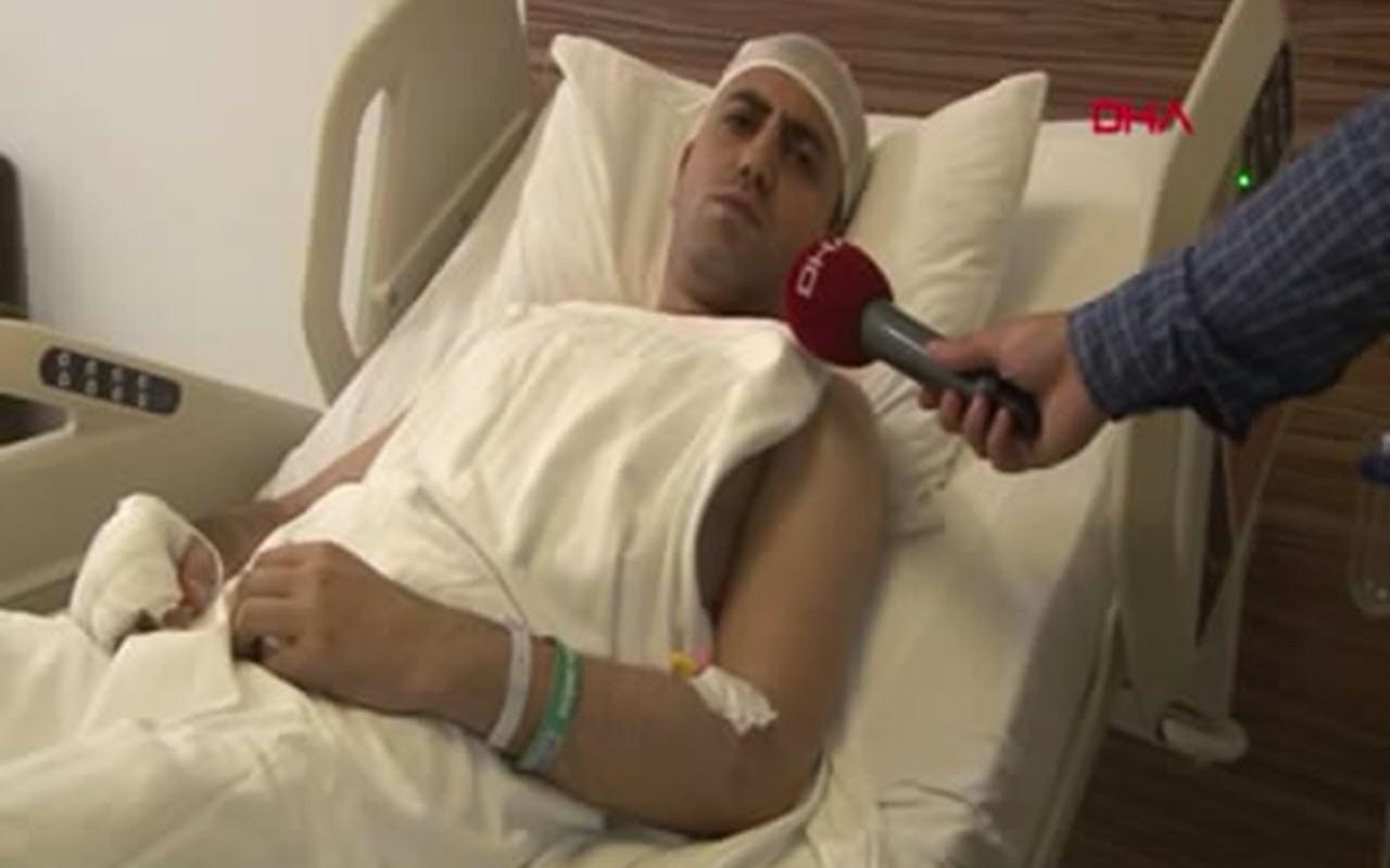 Generallere 'eşek' demişti! Darp edilen Akit TV müdürü Murat Alan'ın son hali