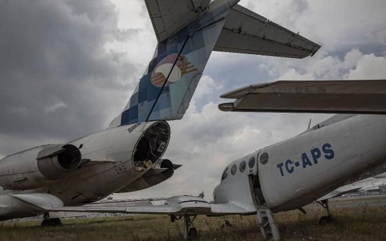 Atatürk Havalimanı'ndaki hurda uçaklar