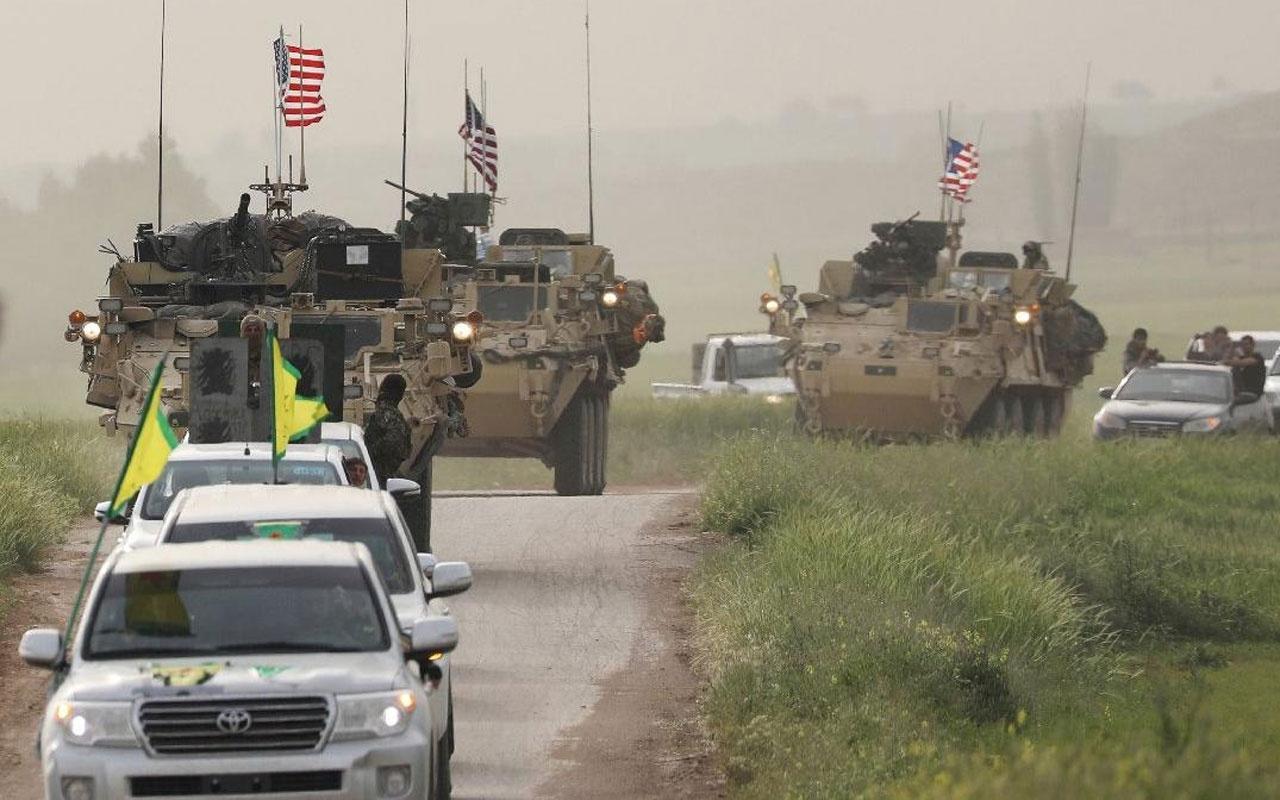 Cumhurbaşkanı Erdoğan'ın operasyon açıklaması sonrası YPG'li teröristler sınıra yerleşti