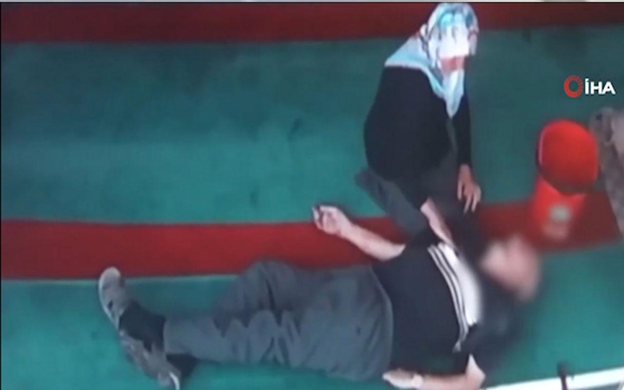 Camiye temizliğe giden yaşlı çifti ölüm ayırdı