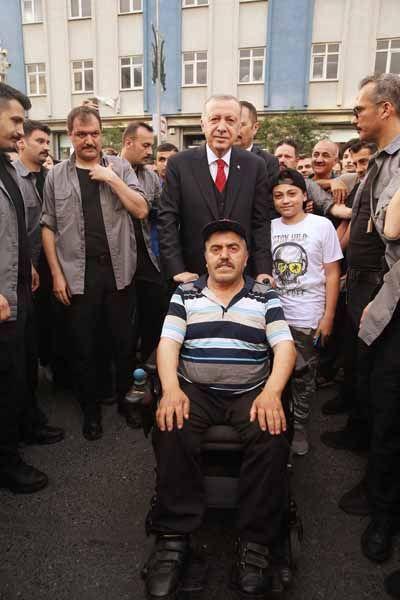 Cumhurbaşkanı Recep Tayyip Erdoğan, Bağcılar Belediyesi'ni ziyaret etti. - Sayfa 2