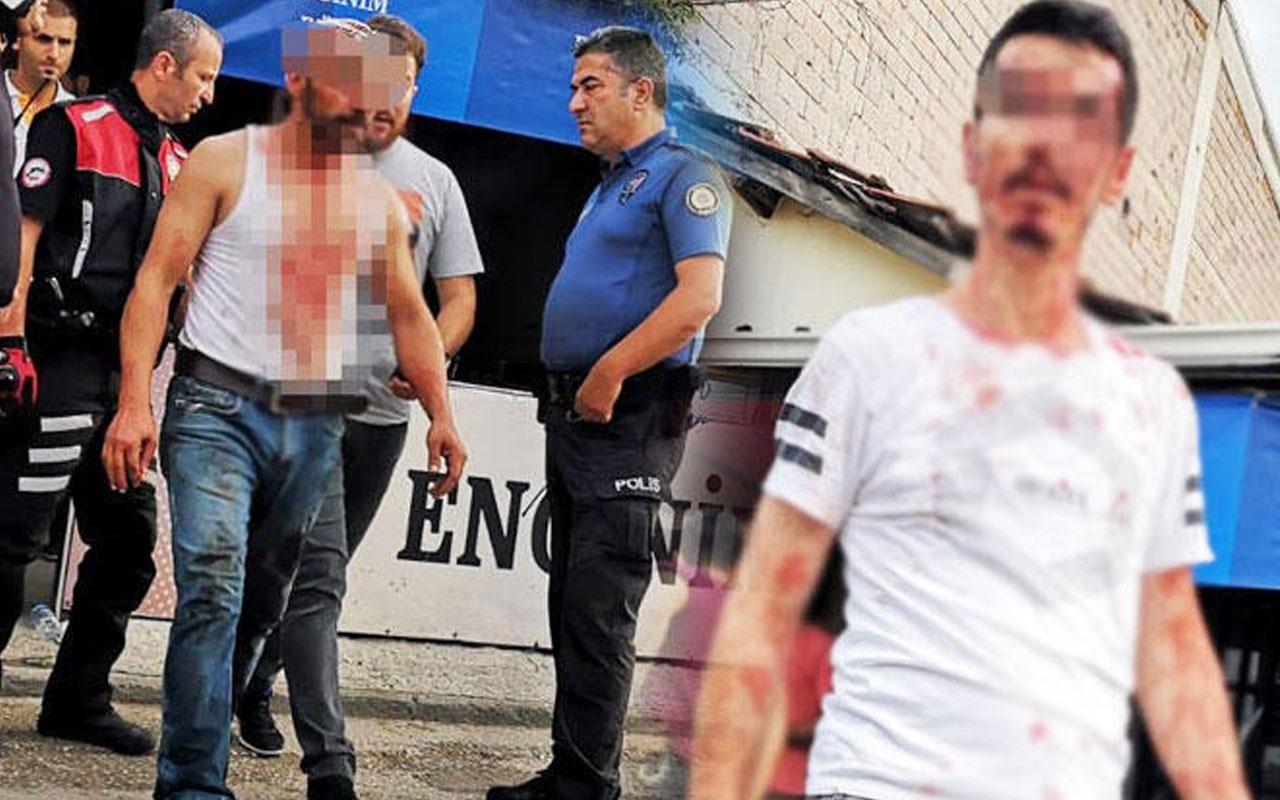 Bursa'da satır ve bıçaklı kavga
