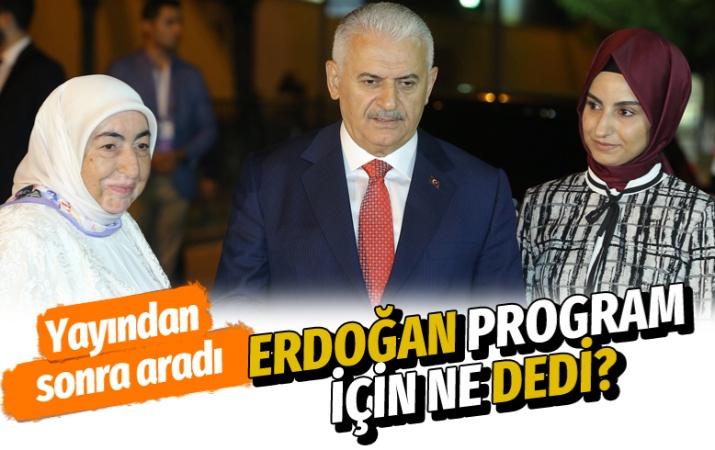 Binali Yıldırım ortak yayın sonrası Erdoğan ile görüşmesini anlattı