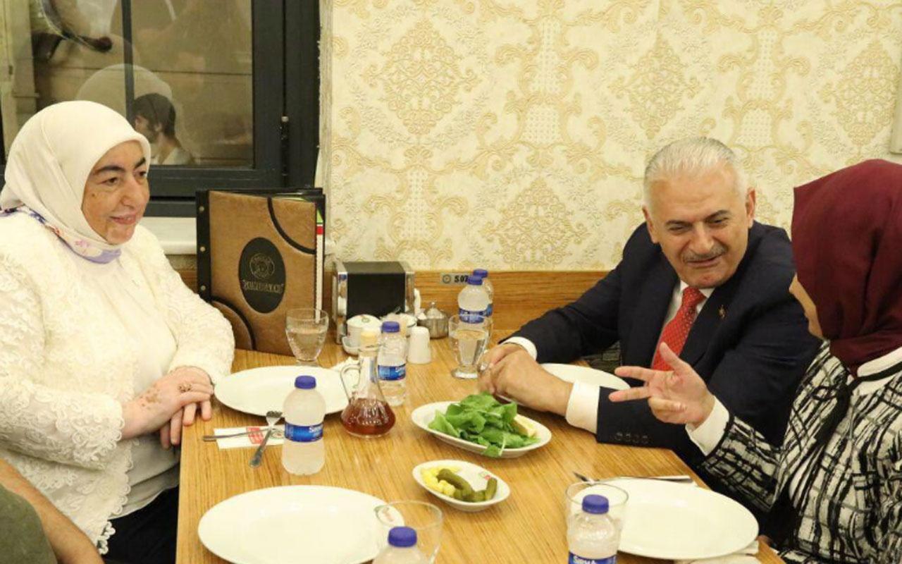 Binali Yıldırım'dan çorbacıda İmamoğlu tweeti