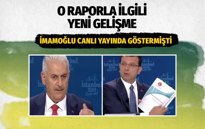 Ekrem İmamoğlu canlı yayında söyledi Sayıştay meğer 1 ay önce...