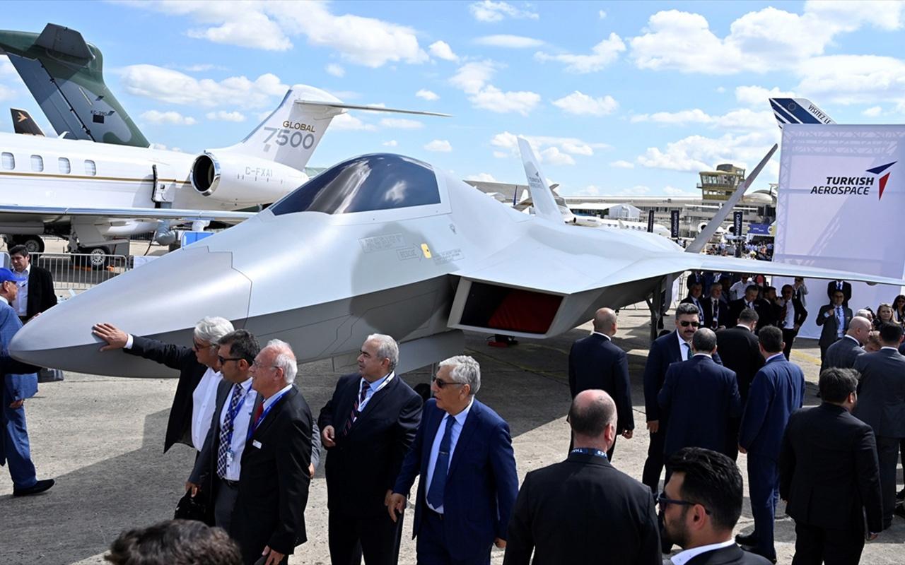 Türkiye'nin milli savaş uçağından ilk görüntüler