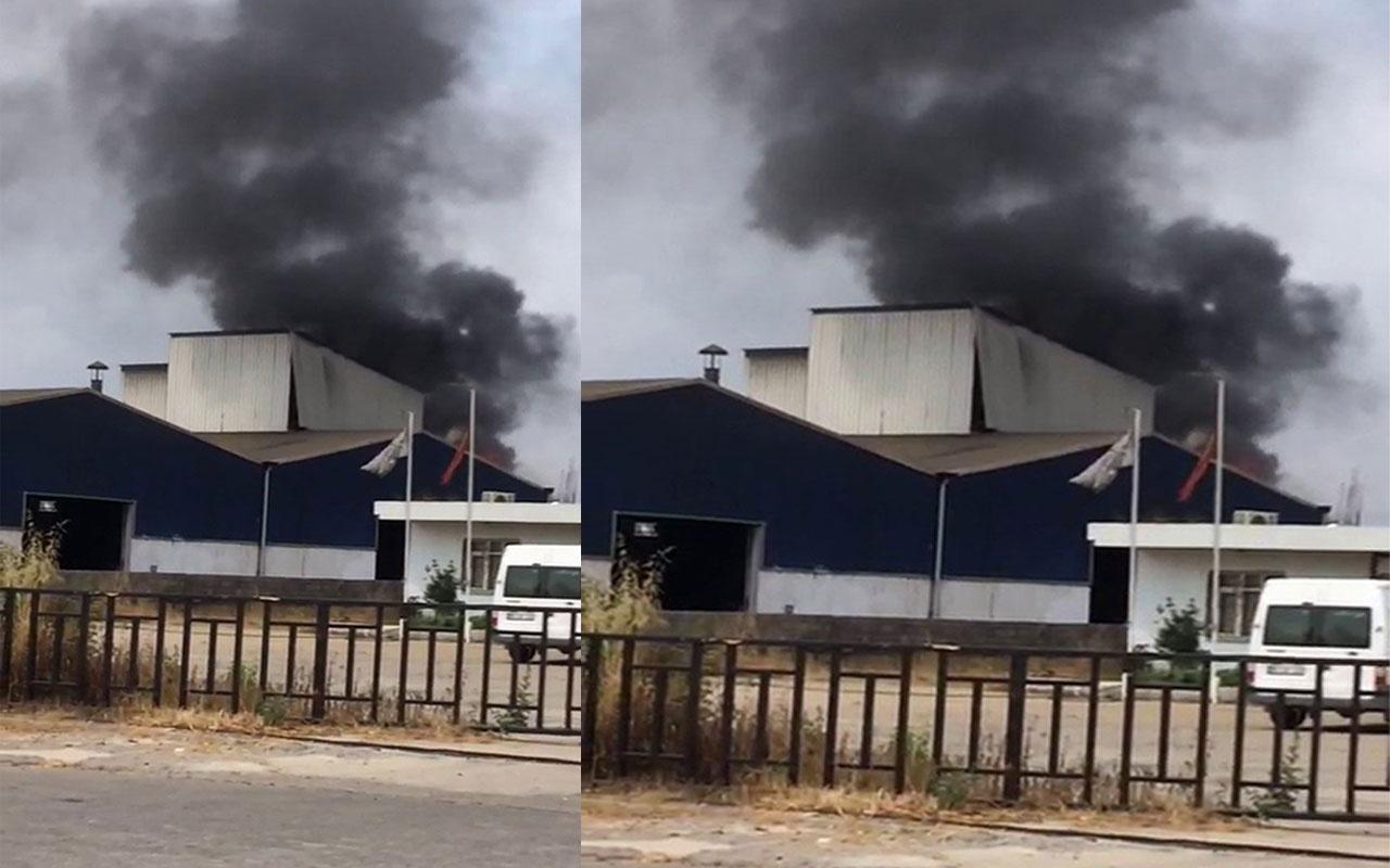 Osmaniye'de hurda fabrikasındaki atık yağ tankında patlama meydana geldi