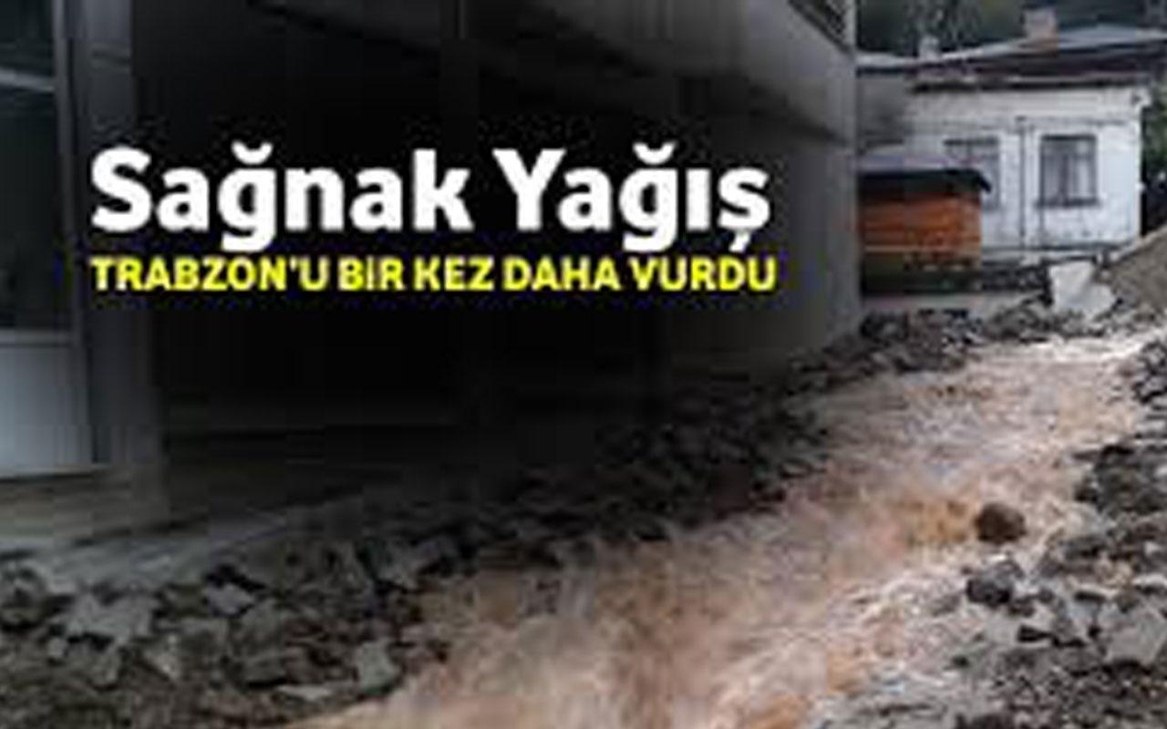Trabzon'da facia: 1 kişi öldü, kayıplar var