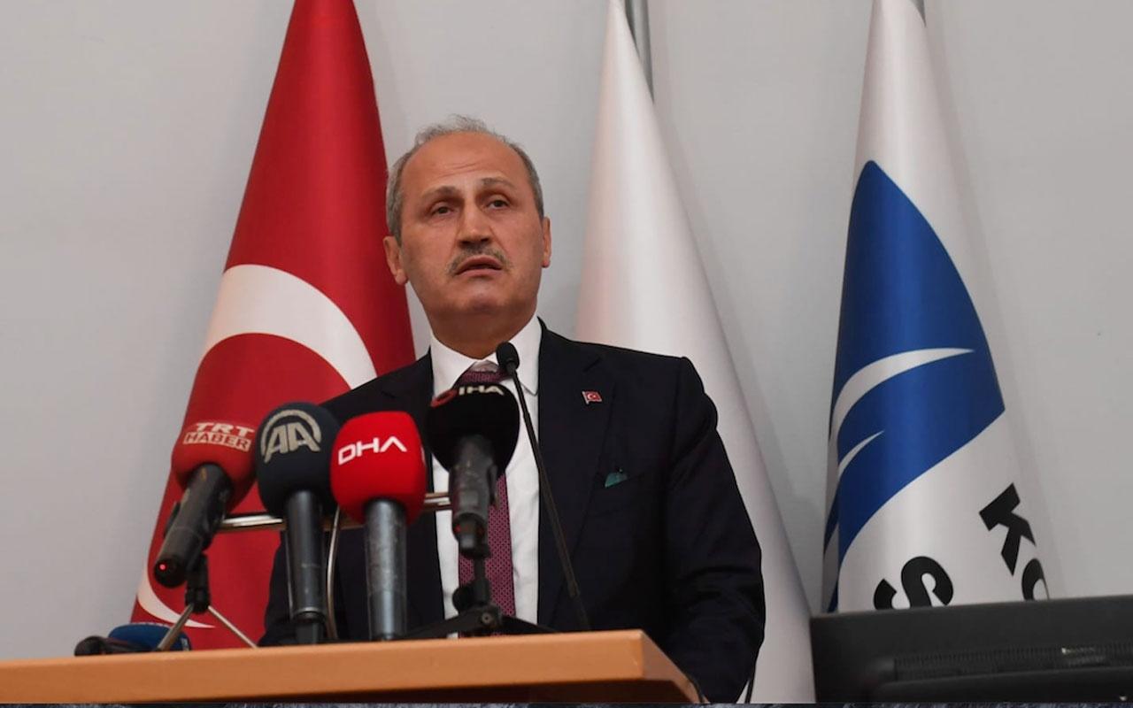 Ulaştırma Bakanı Cahit Turhan'dan YHT müjdesi