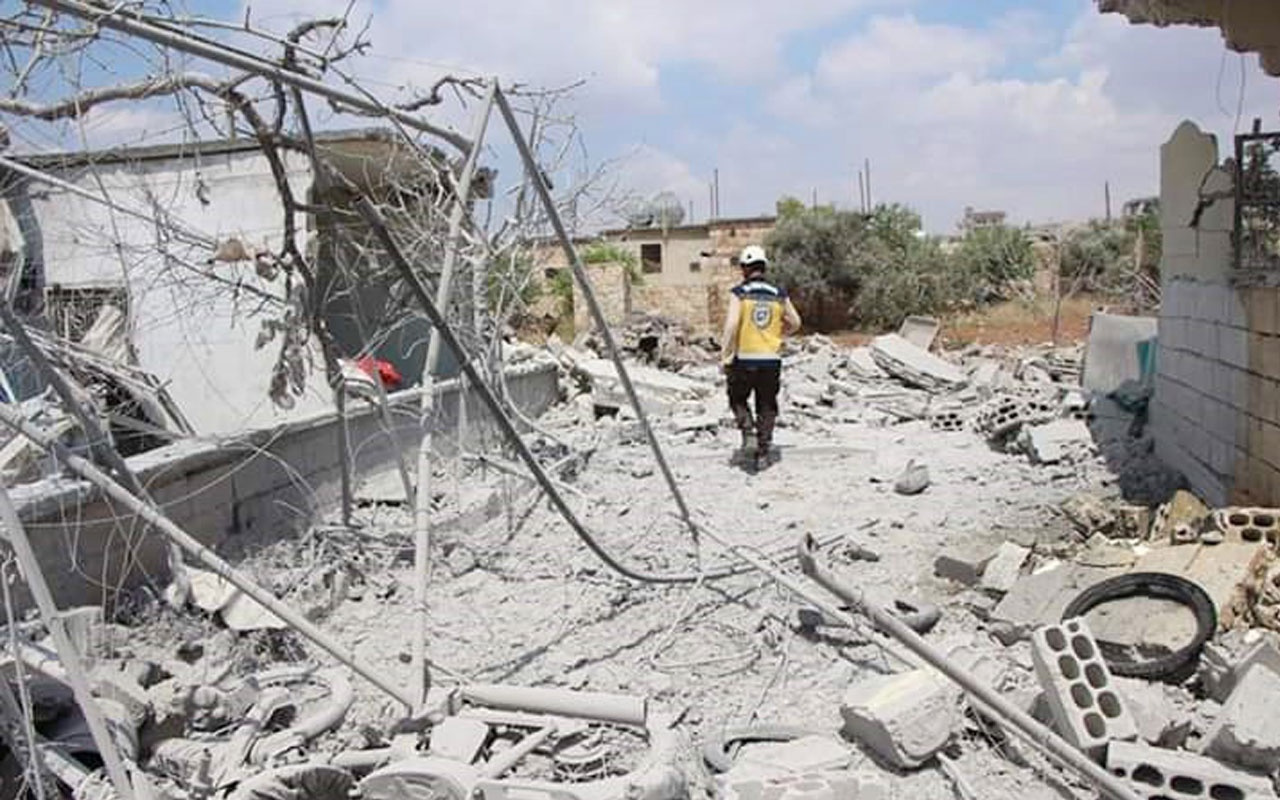 Esad rejiminden İdlib'e saldırı: 14 ölü, 15 yaralı